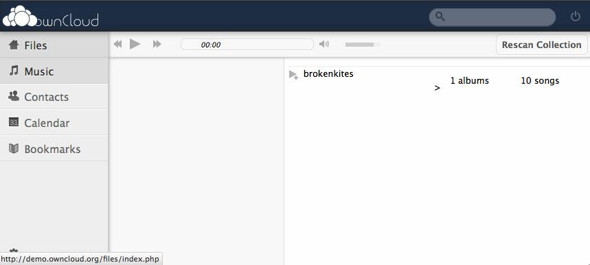ownCloud, un concurrent Open Source à Dropbox et Box.Net - Stockage et gestion de la musique