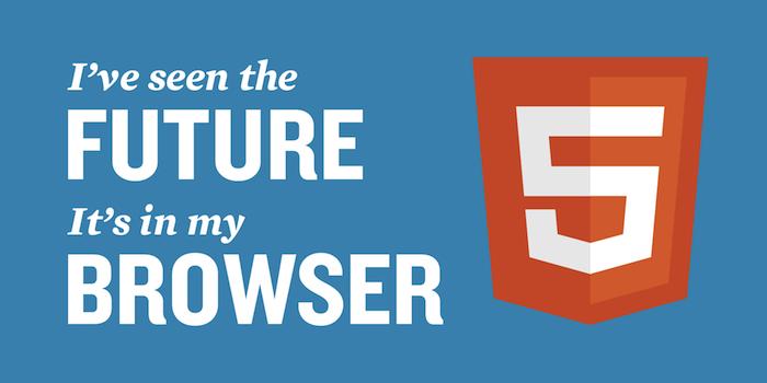 75% des développeurs utilisent HTML5