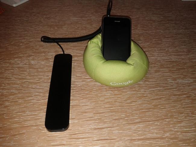 Concours : Novodio RingTone Slim pour téléphoner tout le temps - Branchement prise casque