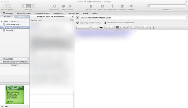 Différentes applications Web pour améliorer votre productivité - Evernote