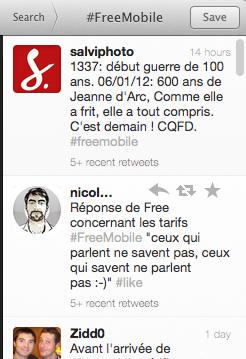 FreeMobile, retour sur LE buzz français ! - #FreeMobile sur Twitter