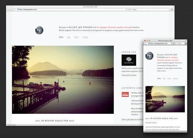 Les technologies Web et les tendances à surveiller en 2012 - Une conception adaptée