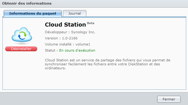 Présentation du nouveau DSM4 de Synology - Cloud Station Informations