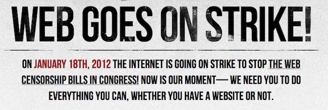 Réjoignez le mouvement en protestant vous aussi contre le SOPA