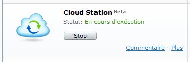 Votre Cloud personnel avec votre NAS Synology et le DSM4 - Package Cloud Station Execution