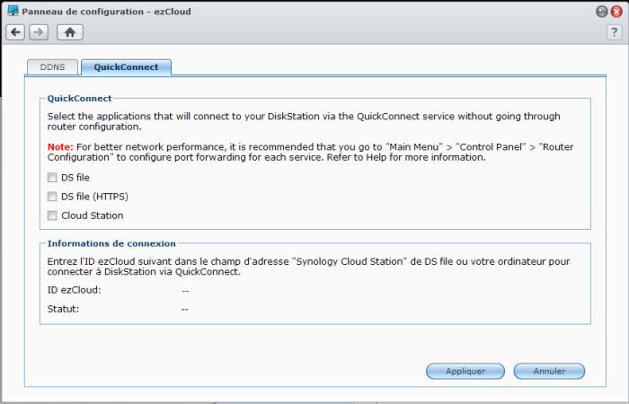 Votre Cloud personnel avec votre NAS Synology et le DSM4 - ezCloud