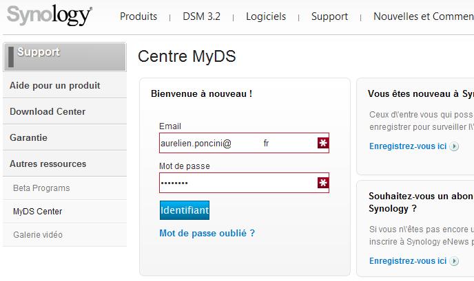 Votre Cloud personnel avec votre NAS Synology et le DSM4 - ezCloud QuickConnect