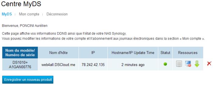 Votre Cloud personnel avec votre NAS Synology et le DSM4 - Infos ezCloud