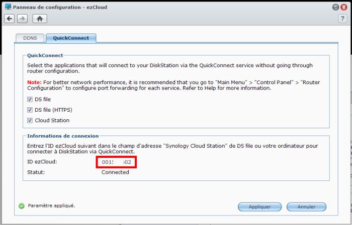 Votre Cloud personnel avec votre NAS Synology et le DSM4 - Cloud Station Utilisateurs