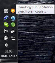 Votre Cloud personnel avec votre NAS Synology et le DSM4 - Cloud Station Utilisation
