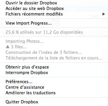 4,5 Go de stockage gratuit pour votre Dropbox