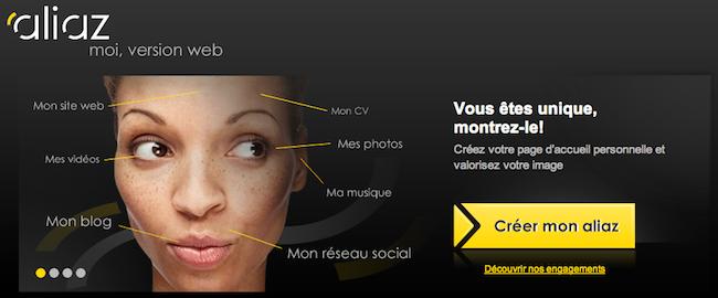 Aliaz, votre identité numérique au sein d'un même service - Aliaz
