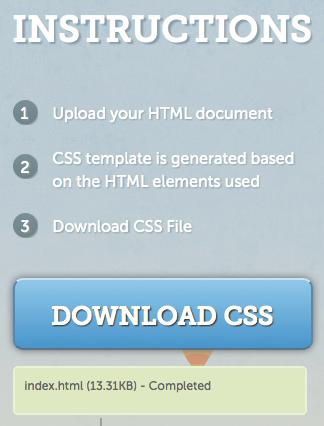Bear CSS vous aide à créer un template CSS grâce à l'HTML