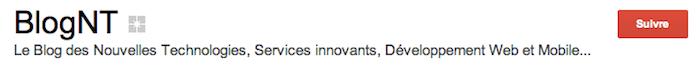 De gros changements dans la génération des badges Google+, vous pouvez obtenir votre propre badge - Bouton 'Suivre'