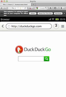 Découvrez la plateforme mobile Mozilla, Boot2Gecko, et son interface utilisateur Gaia - Application d'appel