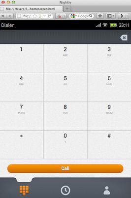 Découvrez la plateforme mobile Mozilla, Boot2Gecko, et son interface utilisateur Gaia - Navigateur Web