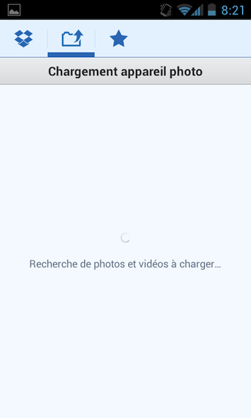 Dropbox introduit son chargement automatique de photos et vidéos sur Android