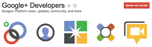 Google+ lance une page développeur afin de développer son écosystème