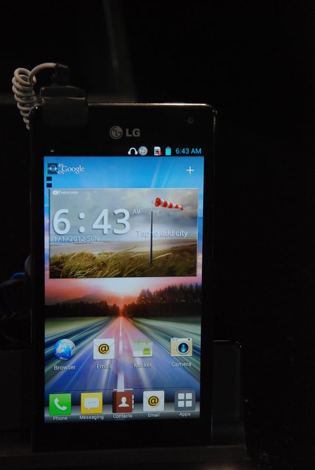 Mobile World Congress : Qu'avez-vous manqué de la première journée ? - LG Optimus 4X HD