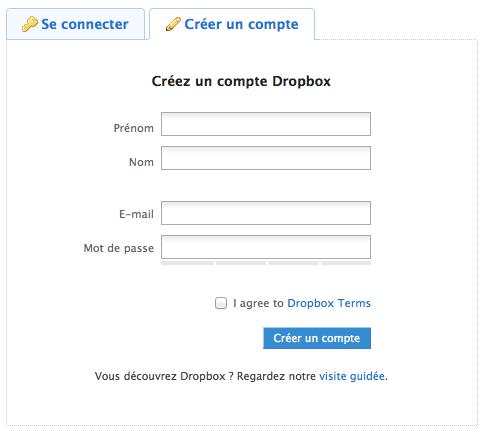 Utiliser Dropbox comme un pro : Trucs et astuces - Inscription