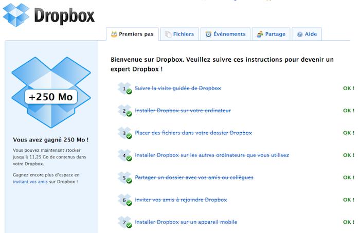 Utiliser Dropbox comme un pro : Trucs et astuces - Premiers Pas