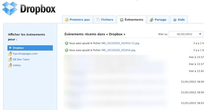 Utiliser Dropbox comme un pro : Trucs et astuces - Événements