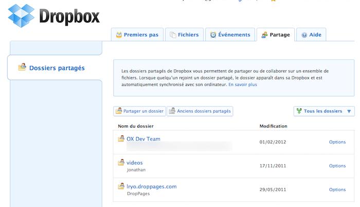 Utiliser Dropbox comme un pro : Trucs et astuces - Partage