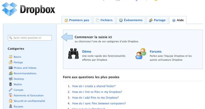 Utiliser Dropbox comme un pro : Trucs et astuces - Aide