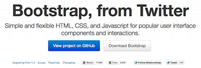 Utiliser Twitter Bootstrap pour votre application Web locale