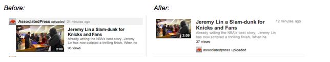 Youtube toujours un peu plus social - Modification page d'accueil