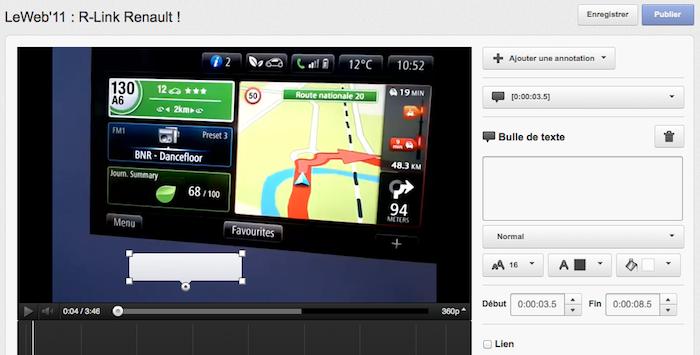 Youtube toujours un peu plus social - Nouveau système d'annotation