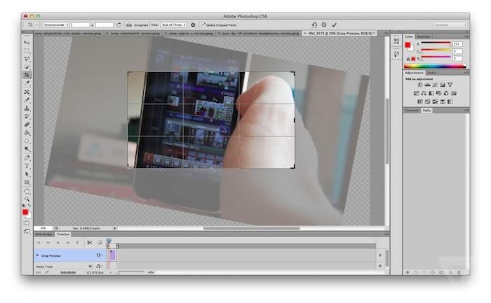 Adobe Photoshop CS6 bêta disponible en téléchargement gratuitement aujourd'hui - Nouvelle UI