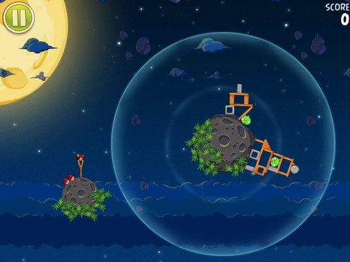 Angry Birds Space a été téléchargé 10 millions de fois en seulement 3 jours...