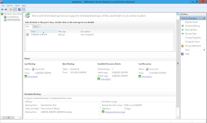 Avec Windows Server 8, Microsoft prévoit de pousser un service de stockage sur le cloud
