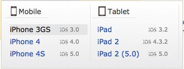 BrowserStack la solution ultime pour tester vos sites / applications Web sur les dispositifs mobiles - iOS