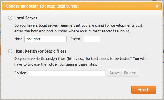 BrowserStack la solution ultime pour tester vos sites / applications Web sur les dispositifs mobiles - Setup Tunnel