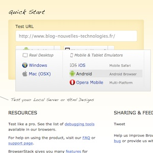 BrowserStack la solution ultime pour tester vos sites / applications Web sur les dispositifs mobiles