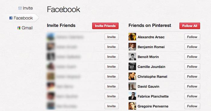 Comment le following fonctionne sur Pinterest ? - Follow une personne