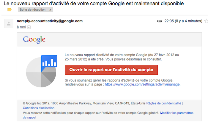 Google lance 'Activité du compte', un tableau de bord pour visionner toutes vos activités en ligne