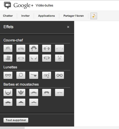 Google+ lance une section 'Applications' pour les Hangouts et une API officielle