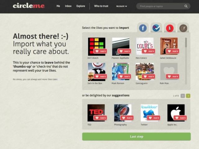Les acteurs du Web en ont parlé [#25] - CircleMe, un réseau social par intérêts