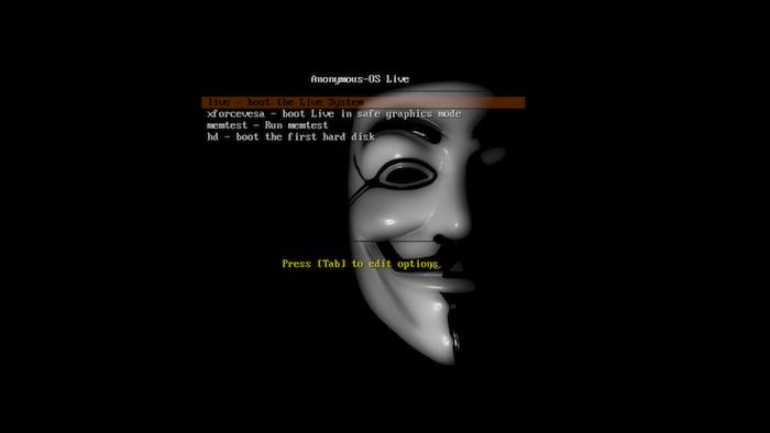 Les Anonymous publient leur propre système d'exploitation : Anonymous-OS