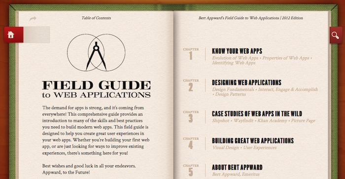 HTML5 rocks dévoile un guide pour construire une application Web - Sommaire