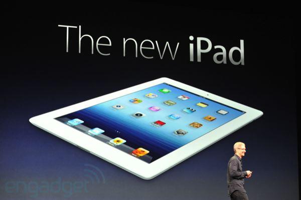 L'iPad 3 dévoilé par Apple lors de la Keynote ! 499$ pour le 16Go et disponible le 16 mars