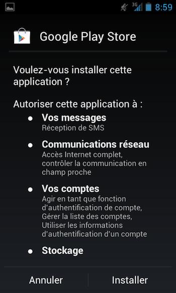 Télécharger l'APK de Google Play Store le nouveau Android Market dès maintenant