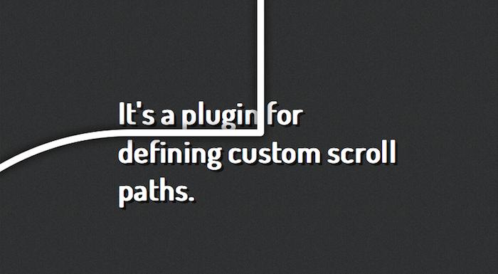 5 plugins jQuery libres à avoir pour les concepteurs Web - jQuery Scroll Path