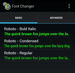 Comment faire pour utiliser la police Roboto de Google partout ? - Roboto sur Android