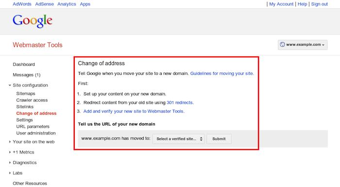 Comment Google Webmaster Tools peut vous aider lors de la migration de votre domaine