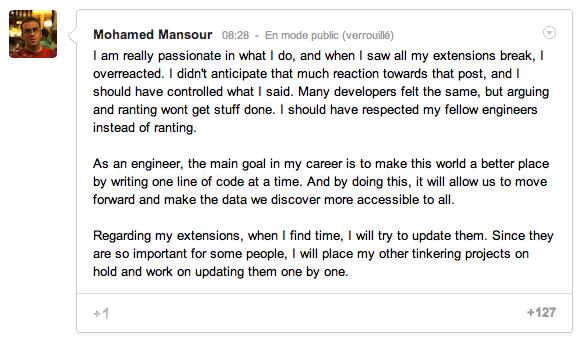 Et si les équipes de Google+ avaient oublié les développeurs ?