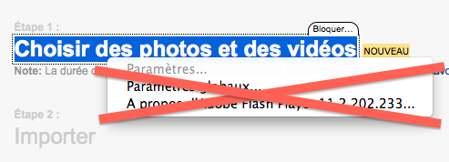 Flickr passe au HTML5 et permet l'upload de fichier de 50 Mo - Téléversement Flash